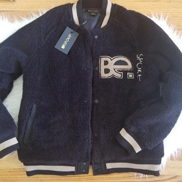 BespokeFit Other - Bespoke Black Sherpa Black Bomber Jacket